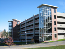 Worcester State College Parking Garage